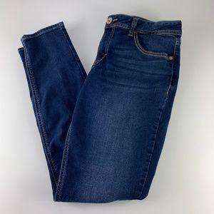 Jordache Sz 12 Skinny Jeans Dark Wash STRETCH